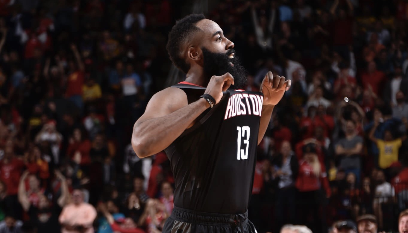 9aaa369396e James Harden makes another case for the Most Valuable Player award.