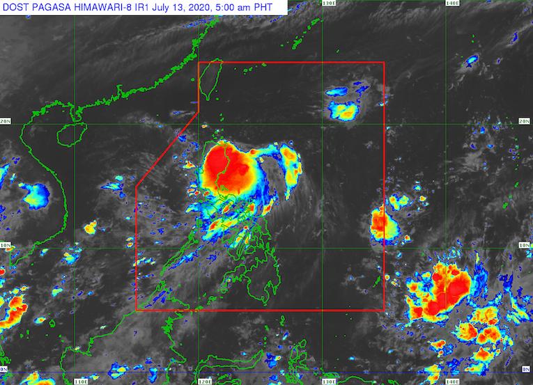 LPA off Cagayan now Tropical Depression Carina - Rappler