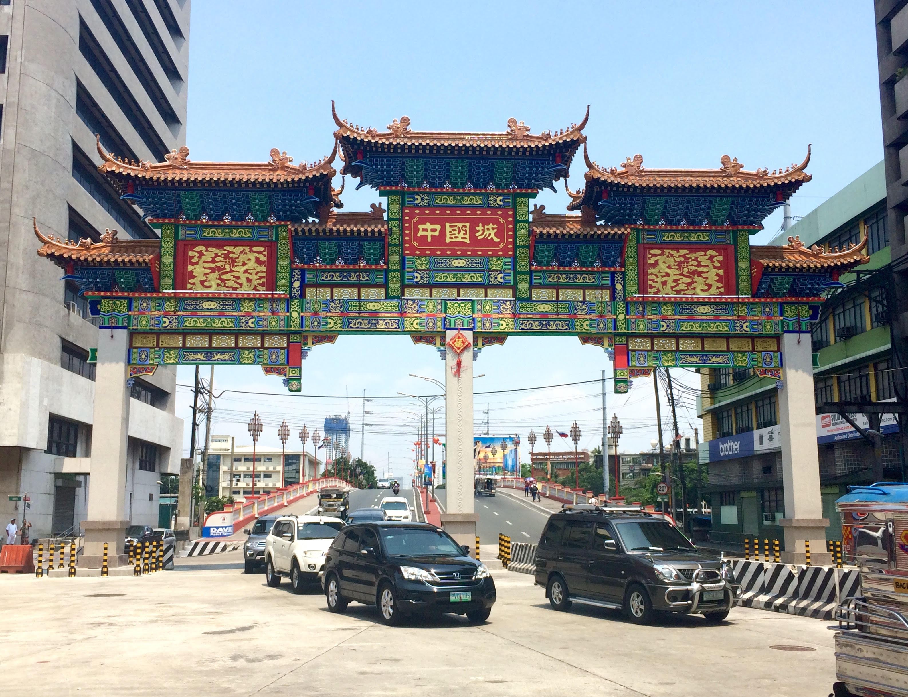 World S Largest Chinatown Arch Unveiled