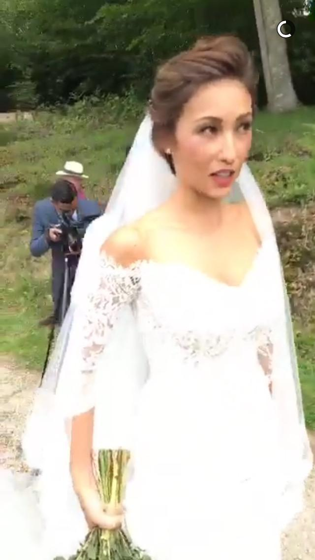 IN PHOTOS: Solenn Heussaff\'s beautiful wedding dress