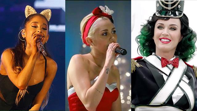 christmas 2015 playlist ariana grande miley cyrus katy perry and more - Miley Cyrus Christmas