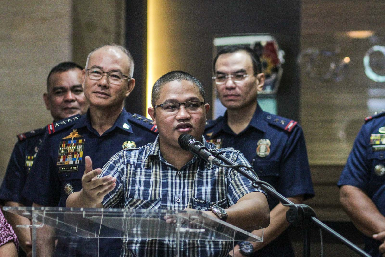 After calling him a liar, PNP hosts Bikoy's press briefing