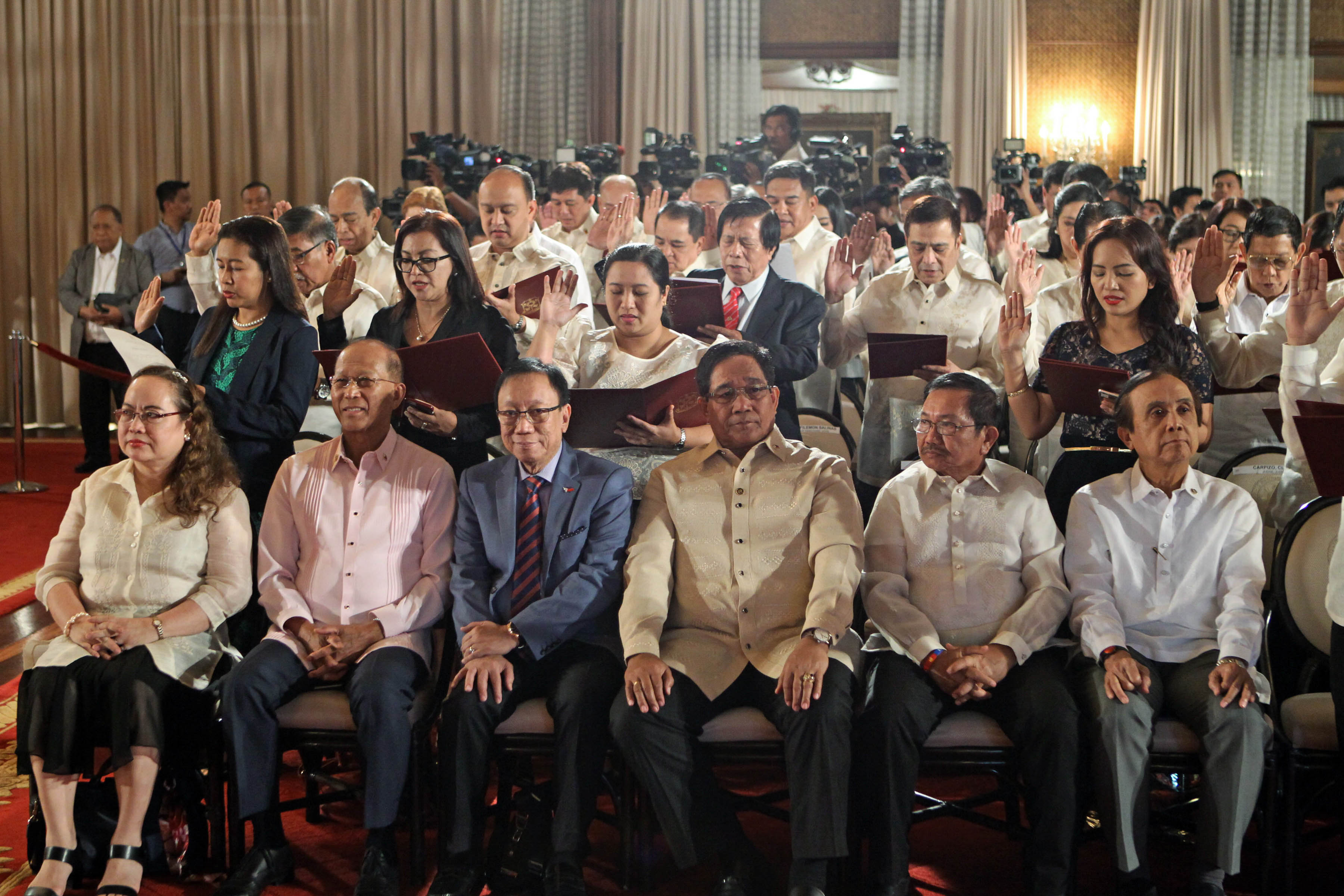 List Duterte Appointees Who Took Their Oath On January 9 2017