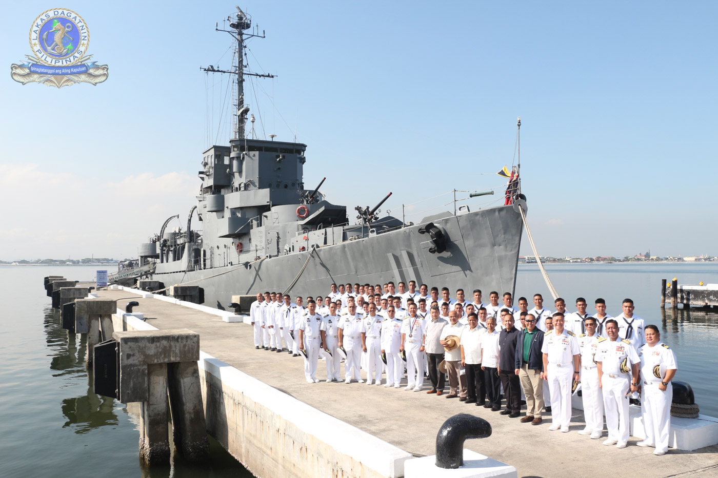 In Photos Ph Navy Finally Retires World War 2 Warship