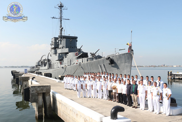 RETIRED. BRP Rajah Humabon served the Philippine Navy for 38 years. All photos from the Philippine Fleet