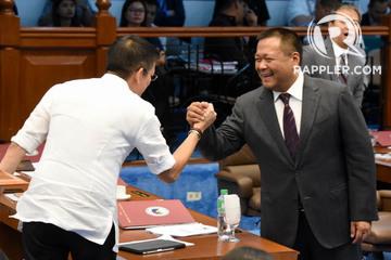 Laughter, jokes fill last Senate session as 6 senators bid goodbye
