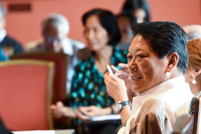 SIGNED AGREEMENT. Government chief negotiator Secretary Silvestre Bello III signed a stand-down agreement with the National Democratic Front of the Philippines. File photo by Edwin Espejo/OPAPP