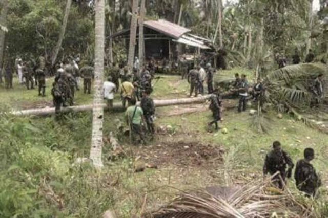 ASG IN BOHOL. Military troops operate against members of the ASG in Bohol province. File photo sourced by Rappler
