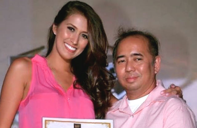 LIKE A DAUGHTER. Rodgil Flores, Rachel Peters' mentor, says the Filipino-British beauty queen is like a daughter to him. Screenshot from Instagram/@rachelpetersx