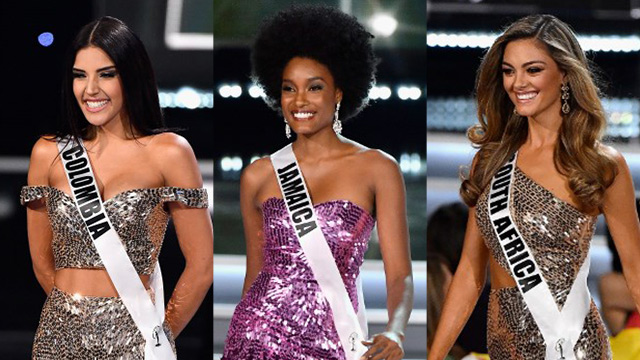 Look The Top 3 For Miss Universe 2017