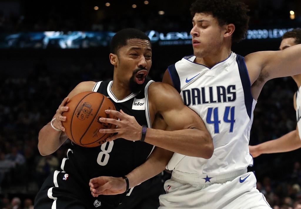 Nets star Dinwiddie still has virus, to miss NBA restart