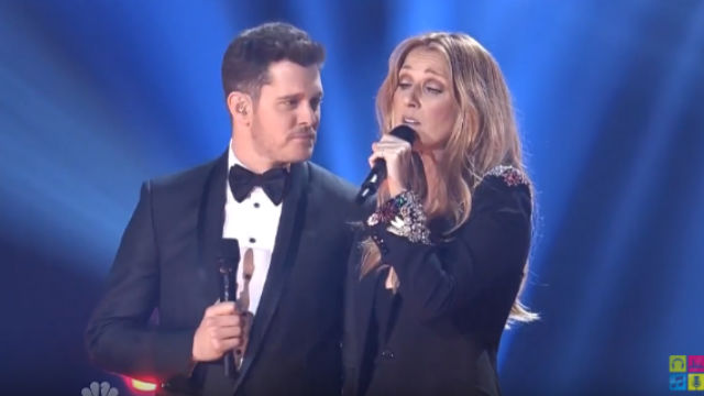 WATCH: Celine Dion and Michael Bublé perform Christmas duet
