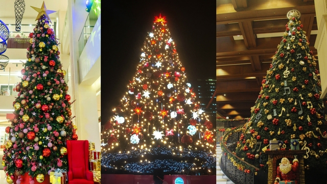 in photos 10 christmas trees in manila that will put you in a festive mood