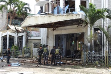 AFP confirms report: Indonesian couple behind Jolo Cathedral