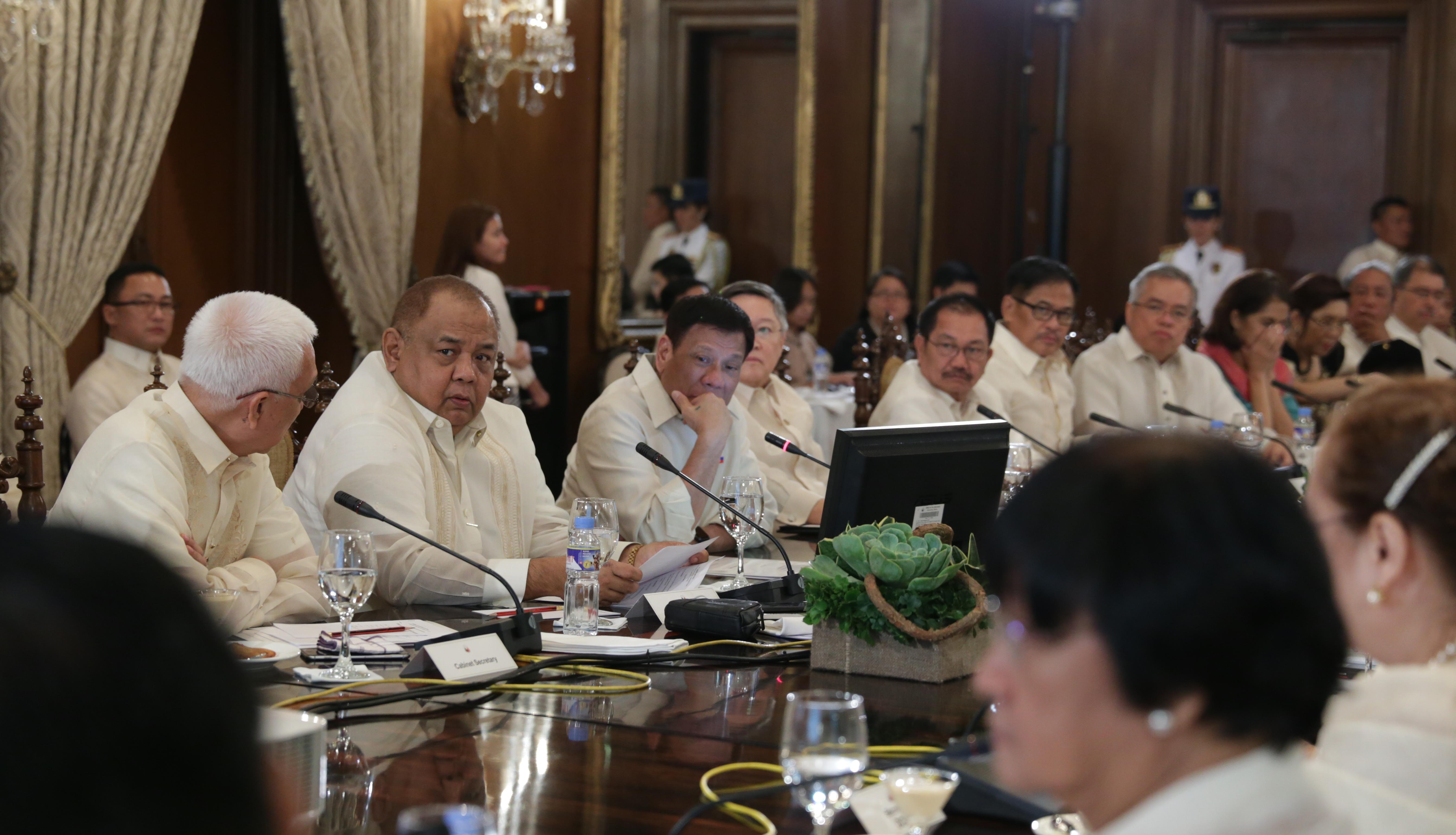 Cabinet Meeting News And Updates Rappler