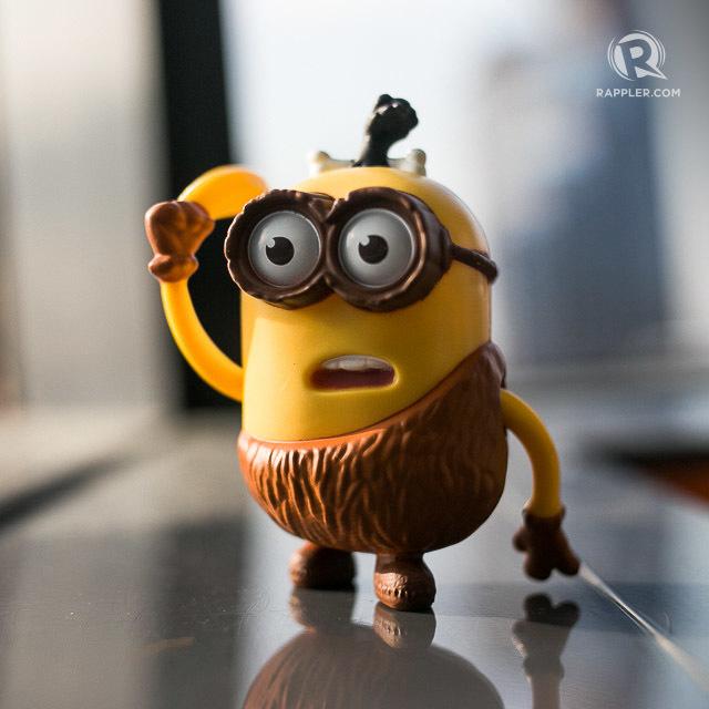Mcdonalds Minion Toys