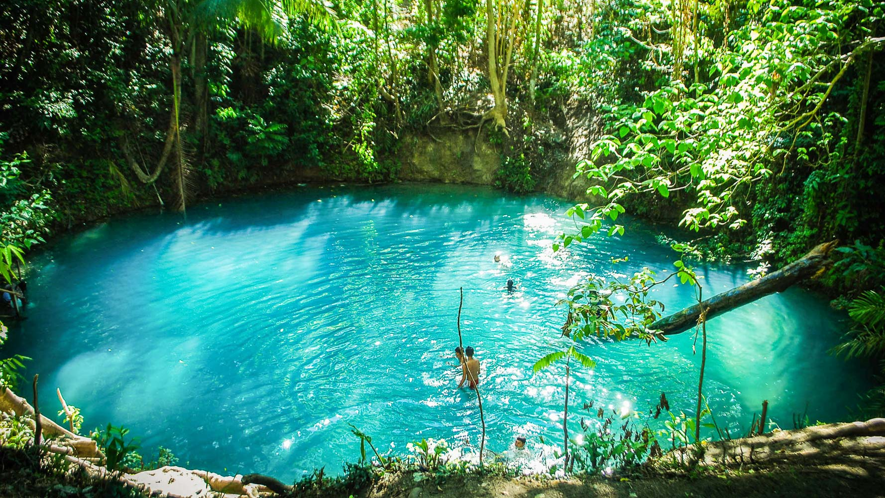 where i 39 ve been the hypnotic 39 blue lagoon 39 of maguindanao
