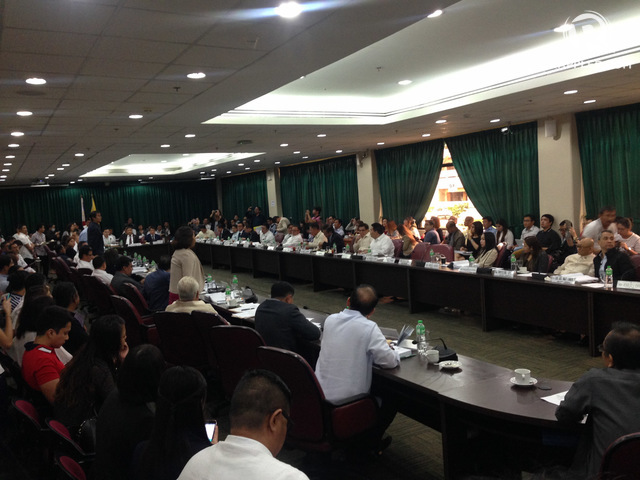 COMMITTEE HEARING. The House justice committee will continue deliberations on the impeachment complaint filed against Chief Justice Maria Lourdes Sereno. File photo by Bea Cupin/Rappler
