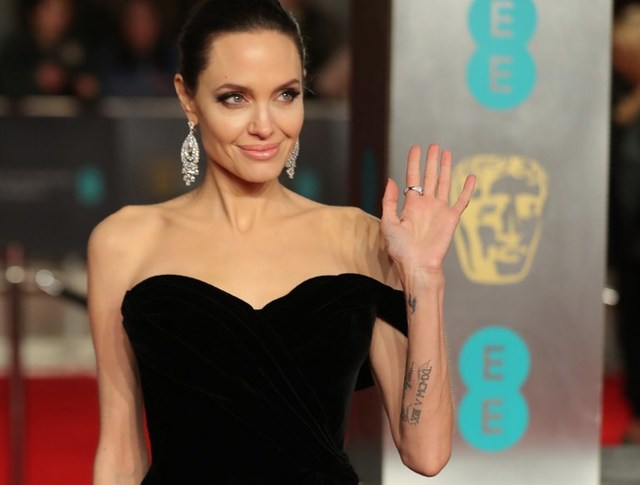DREAM CLIENT. Nat Manilag says he would love to dress US actress Angelina Jolie. Photo by Daniel Leal-Olivas/AFP
