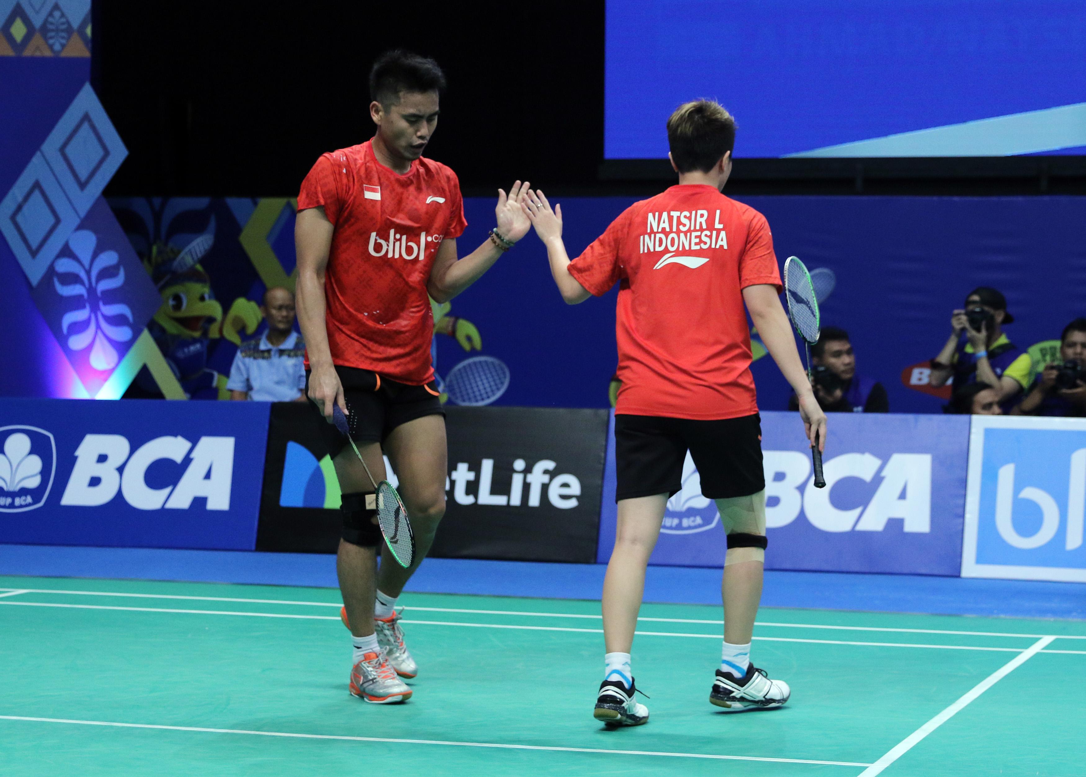Indonesia Open 2017 Daftar pemain Indonesia di perempat final