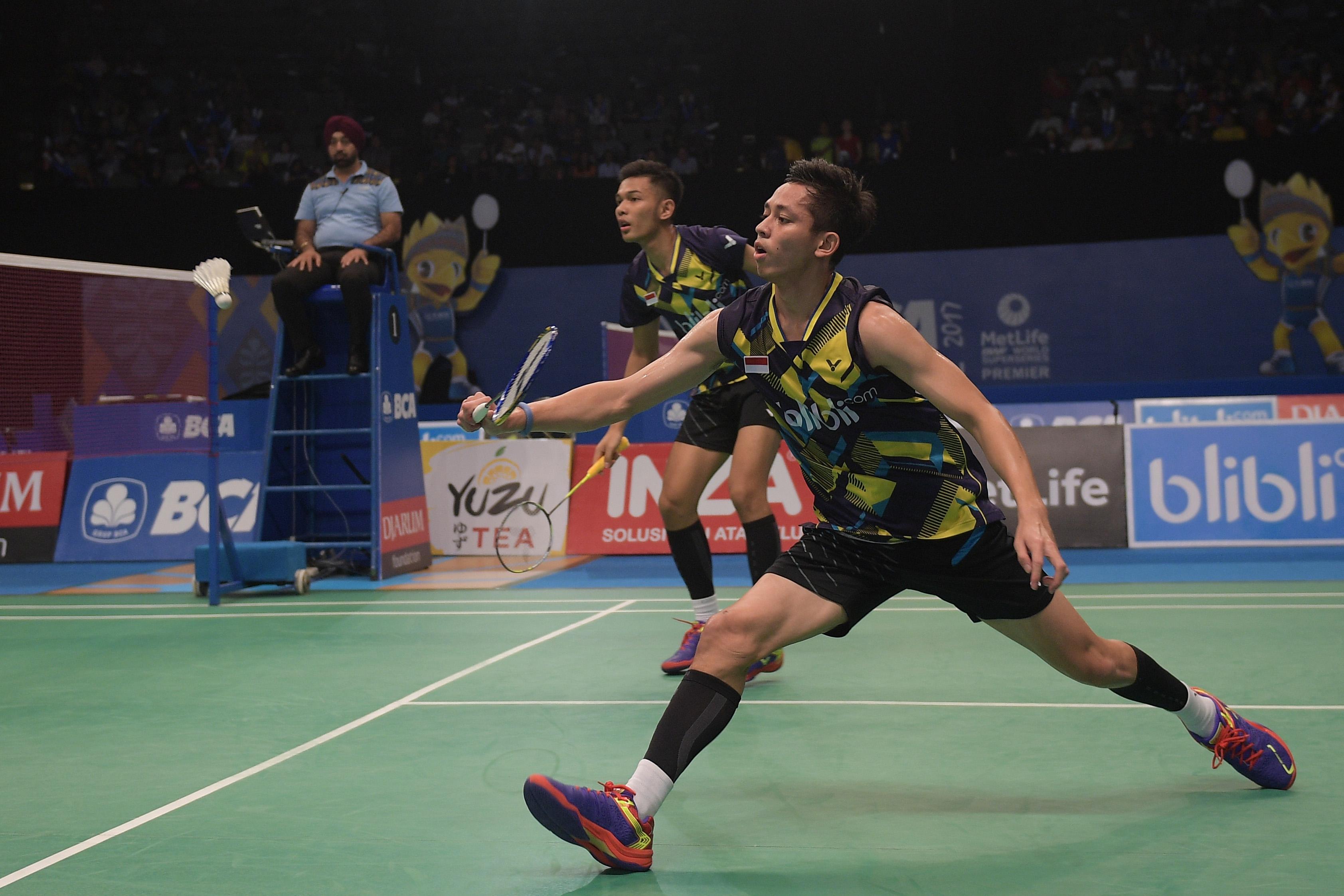 Fajar Rian gagal melaju ke babak final Indonesia Open 2017