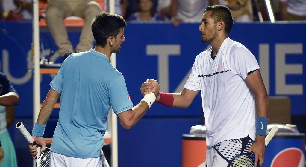 'Kyrgios good guy even if no respect for me,' says Djokovic