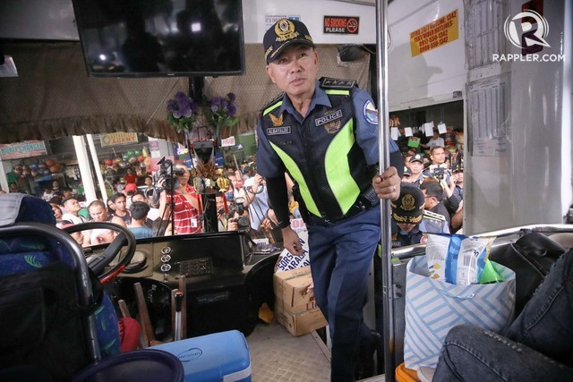 Jew Detector: IN PHOTOS: Albayalde Inspects Transpo Hubs For Holy Week 2019