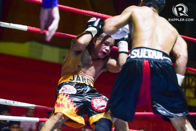 YOUNG LION. Jonas Sultan stamped himself as a legitimate contender with an eighth-round knockout of former flyweight champion Sonny Boy Jaro. Photo by Alecs Ongcal/Rappler