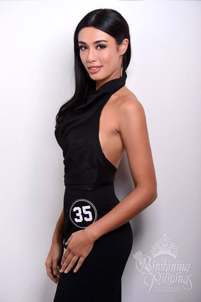 SANDRA's COMEBACK. From Miss World Philippines runner-up, Sandra hopes to get a crown