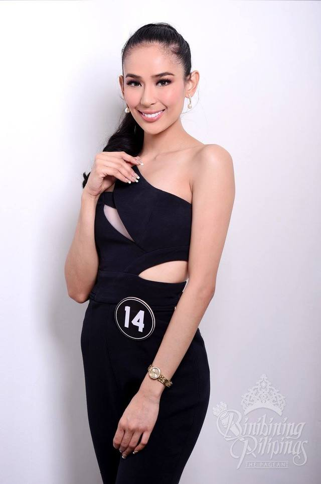 SAMANTHA BERNARDO. After being one of the top finalists, Samantha aims to represent the Philippines