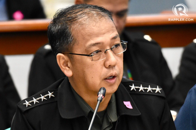 PH MILITARY CHIEF. AFP chief General Carlito Galvez Jr at the Senate Finance Subcommittee hearing on the proposed 2019 budget of the Department of National Defense on October 2, 2018. Photo by Angie de Silva/Rappler