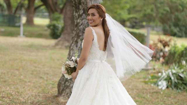 In Photos Nikki Gil In Stunning Wedding Gown