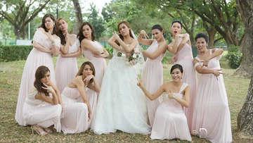 Nikki Gils Wedding.In Photos Celebrity Guests At Nikki Gil And Bj Albert S Wedding