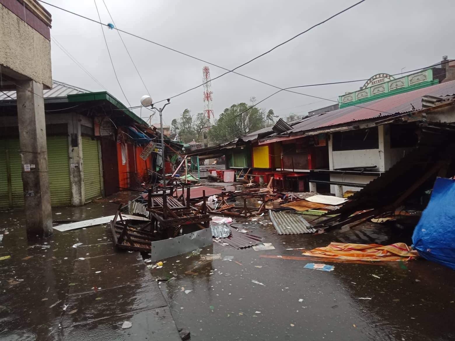 GUINOBATAN, ALBAY. Photo by Guinobatan Mayor Ann Gemma Ongjoco