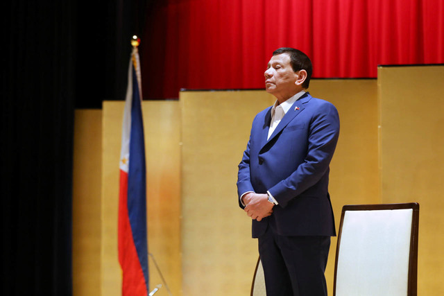 REMARKS IN JAPAN. President Rodrigo Duterte is in Japan for the Nikkei International Forum on the Future of Asia. Malacañang photo