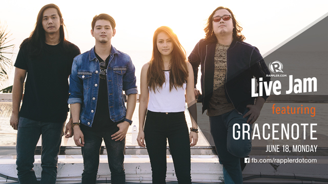 [WATCH] Rappler Live Jam: Gracenote