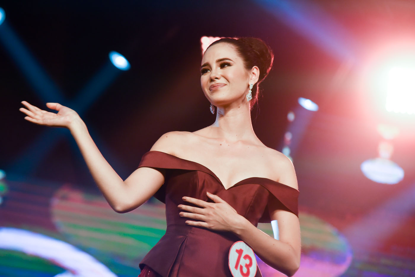 a2f0a9866a5a Catriona Gray on her Miss World Philippines 2016 win