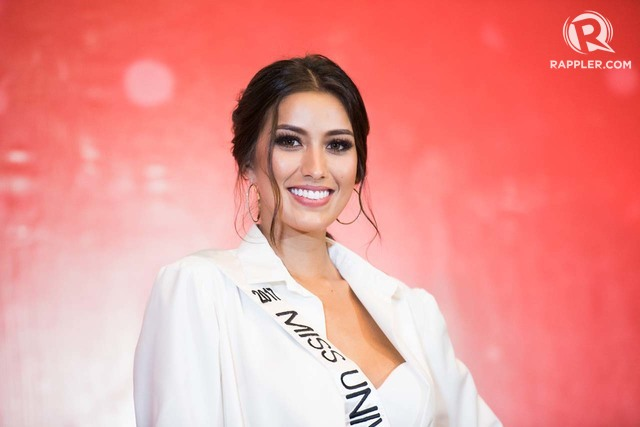 Miss Universe Philippines 2017 Rachel Peters during her send-off at Novotel. Photo by Martin San Diego/Rappler