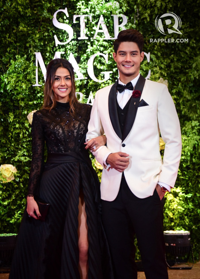 In photos celebrity families on the star magic ball 2017 - Vanesa pascual ...