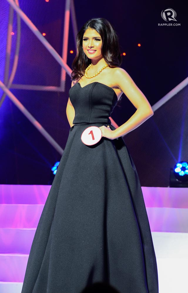 IN PHOTOS: Miss World Philippines 2015 evening gown competition