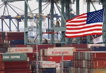 Rising U S  exports shrink trade deficit