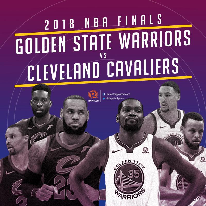LOOK: NBA Finals 2018 Schedule, Philippine Time