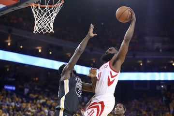 edf1ff902cc James Harden dunks over Draymon Green in one of the highlights of the  Houston