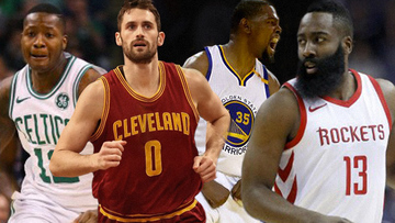 a405a5f86535 IN NUMBERS  All even in NBA East and West finals