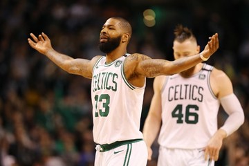 huge selection of b273c e86da Celtics' Morris backs up talk on shutting down LeBron, Cavs