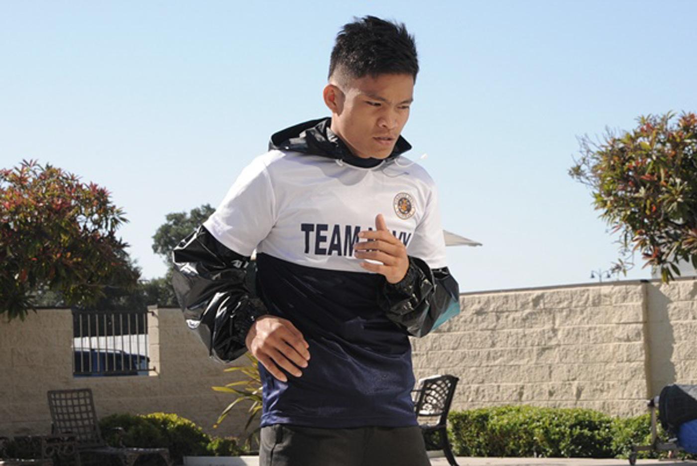 Jerwin Ancajas skips break, keeps training for title fight