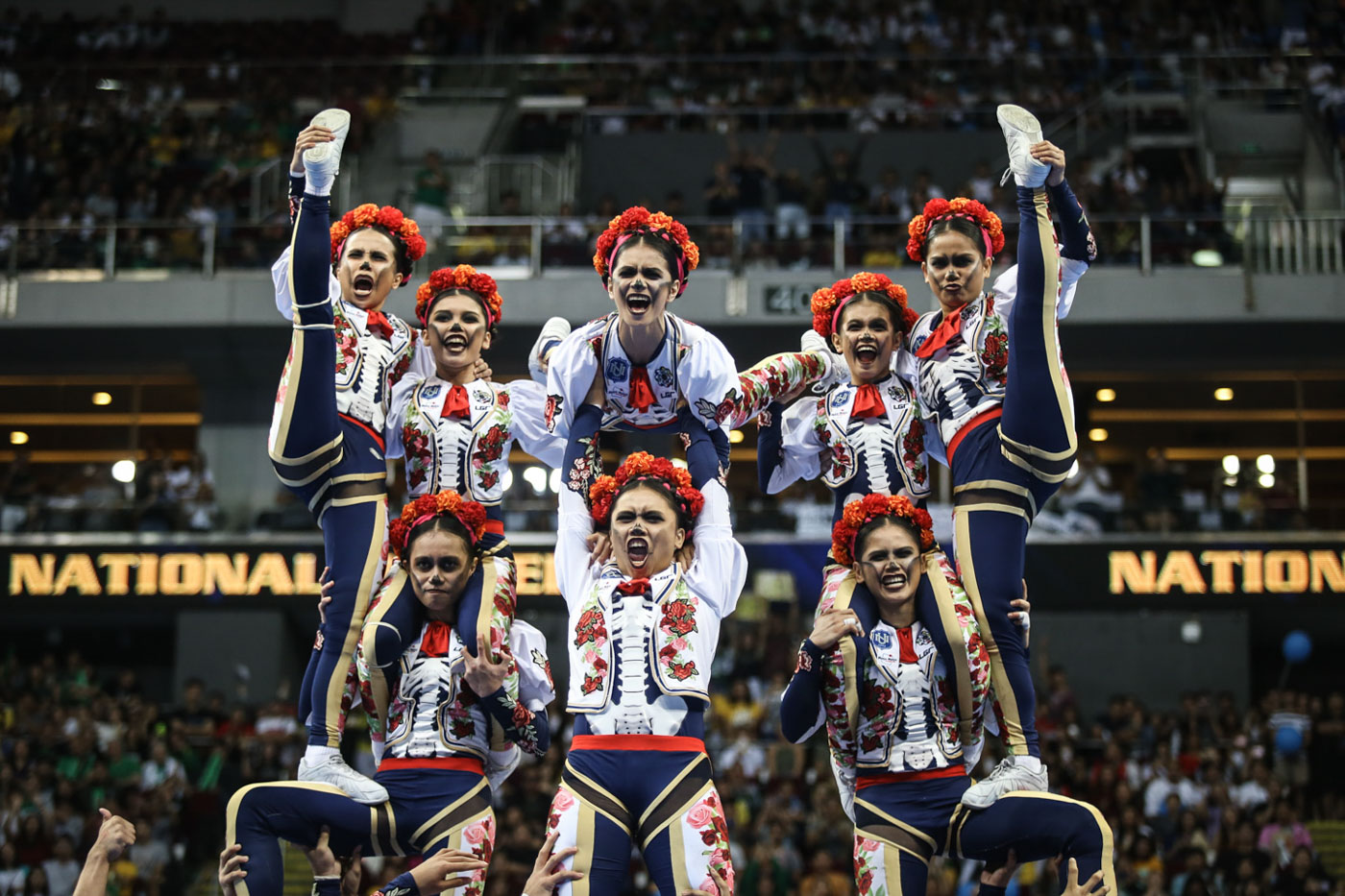 NU Pep Squad reclaims UAAP cheerdance crown