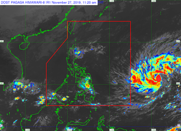 Potential Typhoon May Enter Par As Philippines Hosts Sea Games 2019