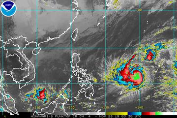 Pagasa Warns Parts Of Luzon Brace For Typhoon Kammuri