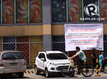 Duterte Lifts Ban On Small Town Lottery But With Conditions